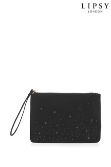 Lipsy Scatter Diamanté Clutch