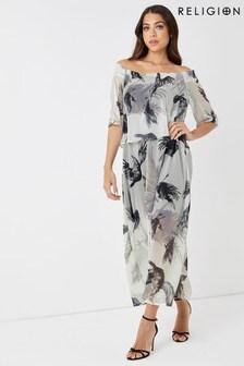 Religion Ombre Maxi Dress