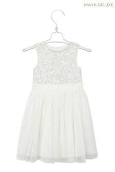 Maya Mini Delicate Sequin Dress