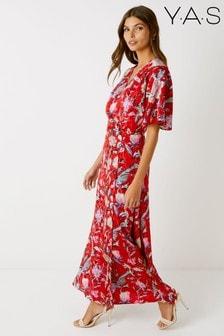 Y.A.S Oriental Print Dress