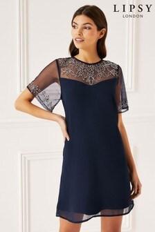 Lipsy Kleid mit Zierdetails
