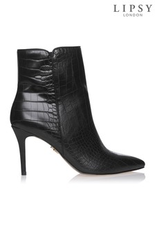 Lipsy Croc Ankle Boots