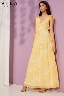 Vila Sleeveless Maxi Dress