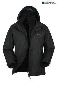 Непромокаемая мужская куртка 3 в 1 Mountain Warehouse Fell