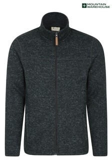 Mountain Warehouse Idris Mens Full Zip Fleece (L17617)   $48