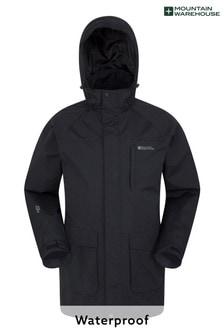 Mountain Warehouse Glacier Ii Extreme Mens Waterproof Long Jacket (L18100)   $116