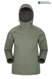 Mountain Warehouse Helsinki Recycled Softshell Mens Jacket (L18233)   $78