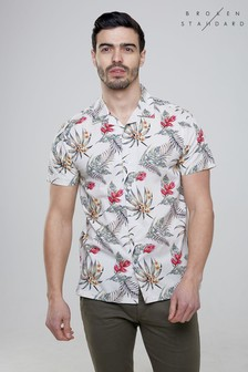 Broken Standard Tropical Print Shirt