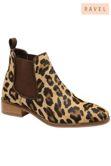 Ravel Leopard Ankle Boot