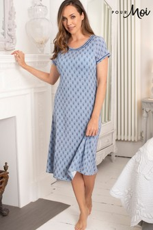 Pour Moi Deco Short Sleeve Modal Jersey Nightdress
