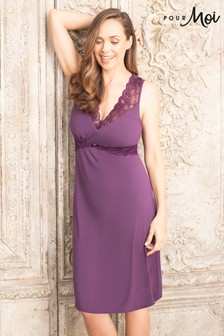 Pour Moi Modal Jersey Built Up Shoulder Secret Support Nightdress
