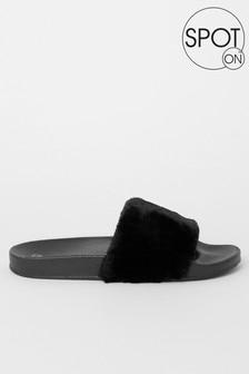 Spot On Faux Fur Slider