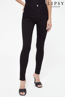 Lipsy High Rise Skinny Selena Jean Long Length