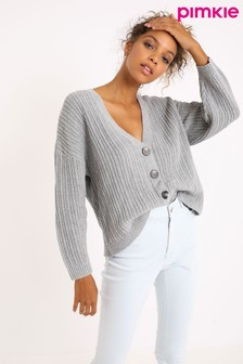 Pimkie V neck Button Through Cardigan