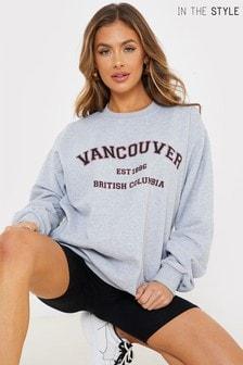 سترة رياضية تلبيس واسعFrancesca Farago 'Vancouver' منIn The Style