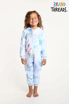 Brand Threads Frozen Elsa Fleece-Einteilerfür Mädchen