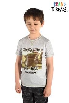 Brand Threads The Mandalorian – The ChildT-Shirt für Jungen