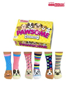 Calcetines Pawsome de United Oddsocks
