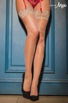 Pour Moi Allure Lace Top 15 Denier stocking