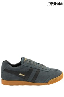 Gola Ladies Harrier Suede Lace-Up Trainers