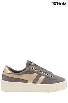 נעליי ספורטלנשים מזמש, עם שרוכים, מדגםBaseline Mark Cox שלGola