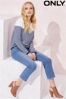 Only Crop Straight Leg Jeans