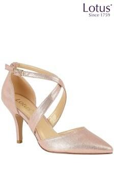 Туфли на каблуке с острым носком Lotus
