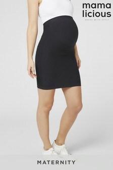 Mamalicious Maternity Over The Bump Skirt