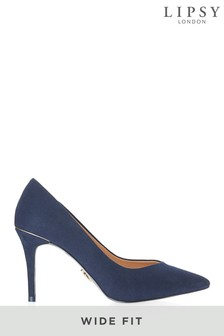 Lipsy Wide Fit Mid Heel Courts