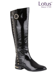 Lotus Knee Length Comfort Boots