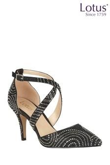 Lotus Diamante Embellished Sandals