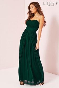 فستان ماكسي متعدد شبكي Bella من Lipsy