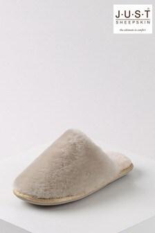 حذاء للبيت نسائي جلد خرافWooly منJust Sheepskin