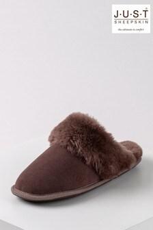 حذاء للبيت نسائي جلد خرافDuchess منJust Sheepskin