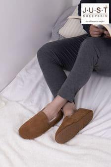 حذاء للبيت جلد خرافGarrick منJust Sheepskin
