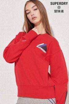 Superdry Mountain Sport Sweatshirt mit Rundhalsausschnitt