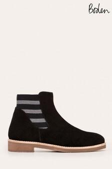 Boden黑色Burford Chelsea靴