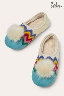 Boden藍色圓球室內拖鞋