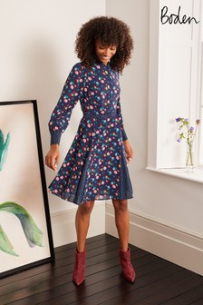 Boden Blue Christina Dress