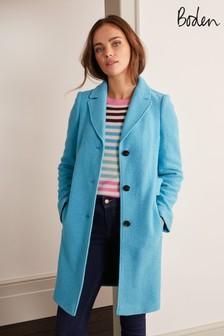 Boden Blue Knight Coat