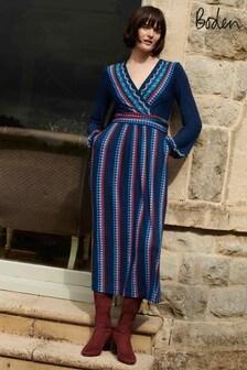 فستانجيرسيهأزرقHayden منBoden