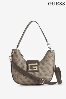 Guess Nude Logo Brightside Shoulder Bag