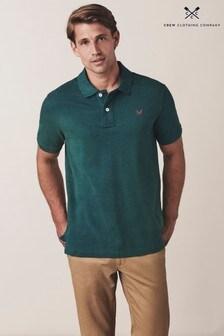 Crew Clothing Company Klassisches Pikee-Poloshirt, Grün
