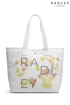 Radley London Heavy Weight Deco Letters Large Open Tote