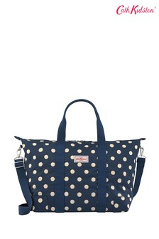 Cath Kidston Blue Foldaway Overnight Bag
