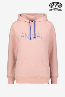 Animal Pink Marl Embracing Hoody