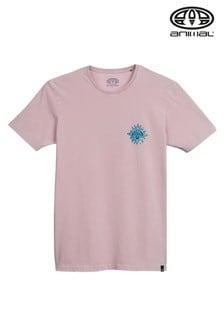 חולצת טי מודפסת של Animal דגם Mandala Deluxe בסגול