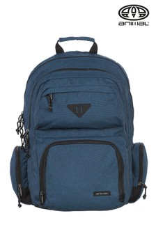 Animal Navy Blue Spray Backpack