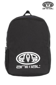 حقيبة ظهر متعرجة سوداء من Animal
