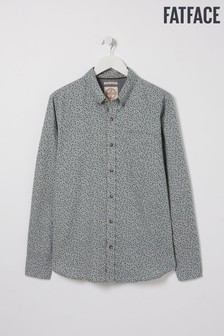 FatFace Grey Witley Floral Print Shirt